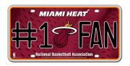 Miami Heat #1 Fan License Plate