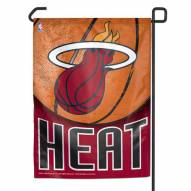 "Miami Heat 11"" x 15"" Garden Flag"