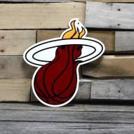 "Miami Heat 12"" Steel Logo Sign"