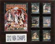"Miami Heat 12"" x 15"" 2012-2013 NBA Champions Plaque"