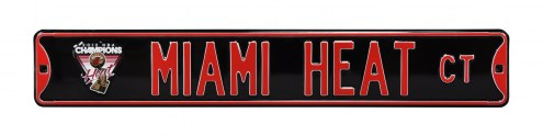 Miami Heat 2011 Champs Street Sign