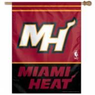 """Miami Heat 27"""" x 37"""" Banner"""