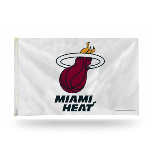 Miami Heat 3' x 5' Banner Flag