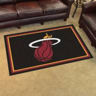 Miami Heat 4' x 6' Area Rug