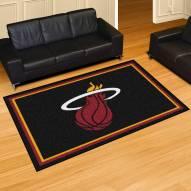 Miami Heat 5' x 8' Area Rug