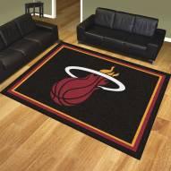 Miami Heat 8' x 10' Area Rug