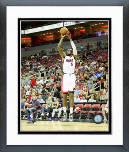 Miami Heat Amare Stoudemire Action Framed Photo