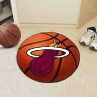 Miami Heat Basketball Mat