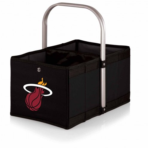 Miami Heat Black Urban Picnic Basket
