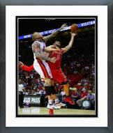 Miami Heat Chris Andersen 2014-15 Action Framed Photo