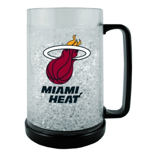 Miami Heat Crystal Freezer Mug