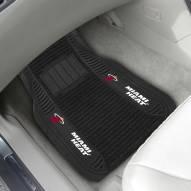 Miami Heat Deluxe Car Floor Mat Set
