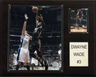 "Miami Heat Dwyane Wade 12"" x 15"" Player Plaque"