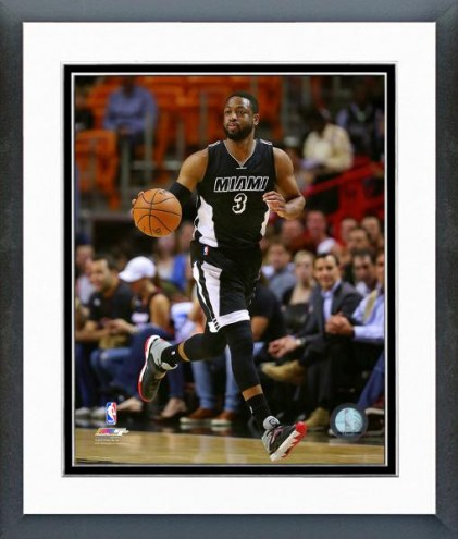 Miami Heat Dwyane Wade Action Framed Photo