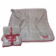 Miami Heat Frosty Fleece Blanket