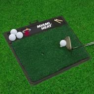 Miami Heat Golf Hitting Mat