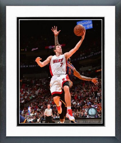 Miami Heat Goran Dragic Action Framed Photo