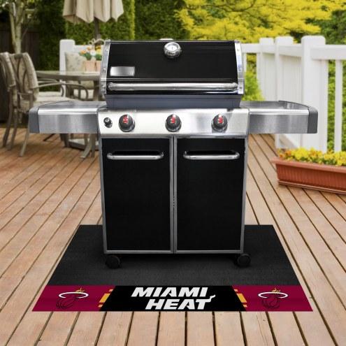 Miami Heat Grill Mat