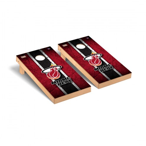Miami Heat Hardwood Classic Vintage Cornhole Game Set