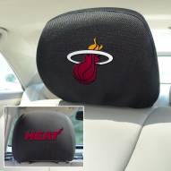Miami Heat Headrest Covers