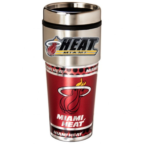 Miami Heat Hi-Def Travel Tumbler