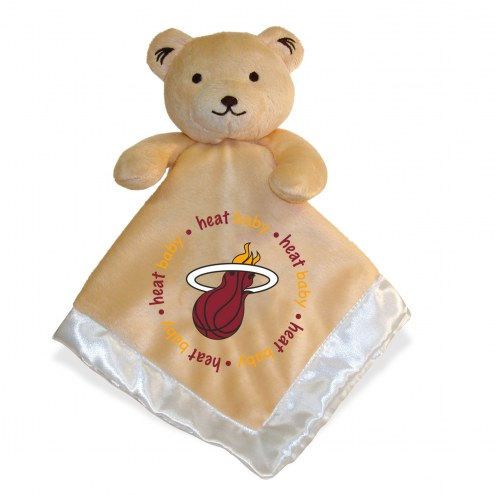 Miami Heat Infant Bear Security Blanket