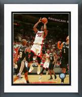 Miami Heat Justise Winslow Action Framed Photo