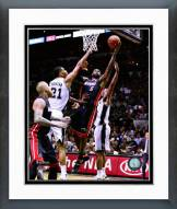 Miami Heat LeBron James Game 2 of the 2014 NBA Finals Framed Photo