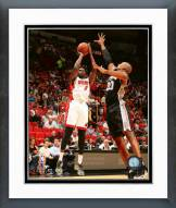 Miami Heat Luol Deng 2015-16 Action Framed Photo