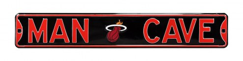 Miami Heat Man Cave Street Sign