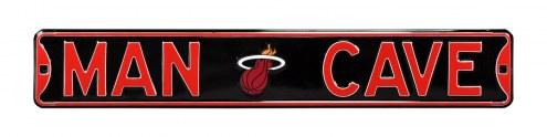 Miami Heat Man Cave Street Sign