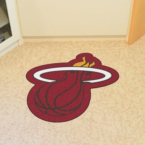 Miami Heat Mascot Mat