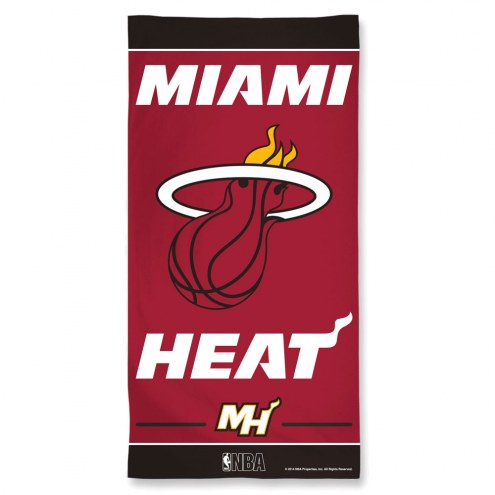 Miami Heat McArthur Beach Towel
