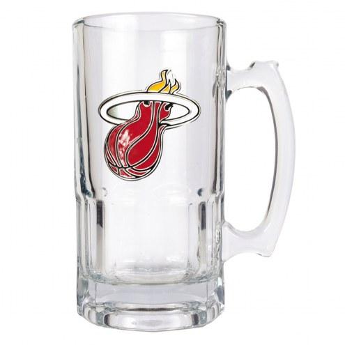 Miami Heat NBA 1 Liter Glass Macho Mug