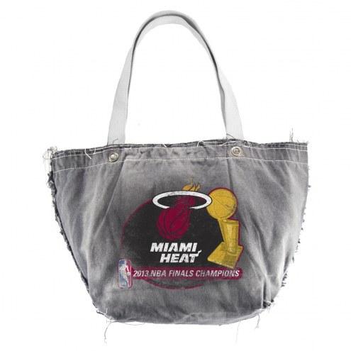 Miami Heat NBA Vintage Tote Bag