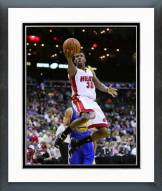 Miami Heat Norris Cole Action Framed Photo