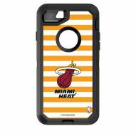 Miami Heat OtterBox iPhone 8/7 Defender Stripes Case