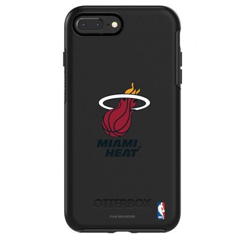 Miami Heat OtterBox iPhone 8/7 Symmetry Black Case