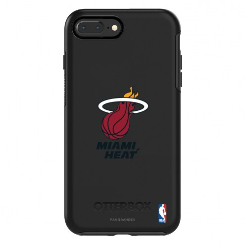 Miami Heat OtterBox iPhone 8 Plus/7 Plus Symmetry Black Case