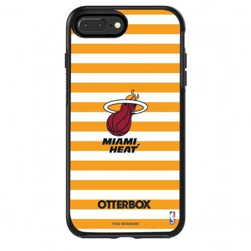 Miami Heat OtterBox iPhone 8 Plus/7 Plus Symmetry Stripes Case