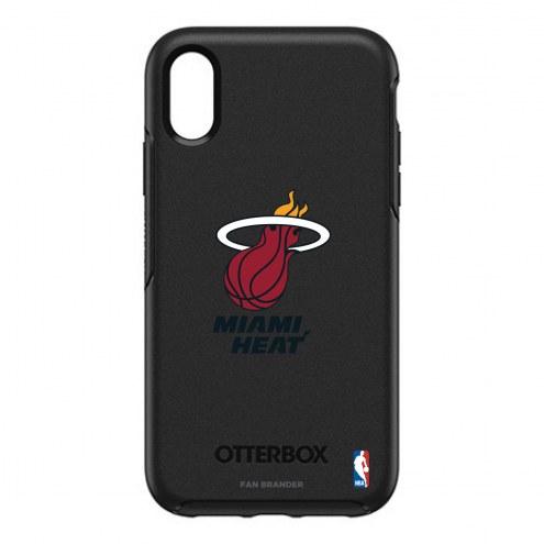 Miami Heat OtterBox iPhone XR Symmetry Black Case