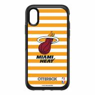 Miami Heat OtterBox iPhone XR Symmetry Stripes Case