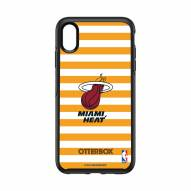 Miami Heat OtterBox iPhone XS Max Symmetry Stripes Case