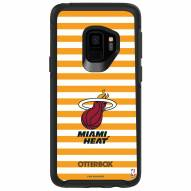 Miami Heat OtterBox Samsung Galaxy S9 Symmetry Stripes Case