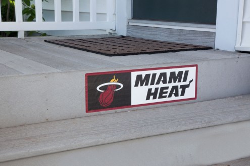 Miami Heat Outdoor Step Graphic