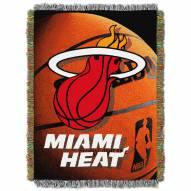 Miami Heat Photo Real Throw Blanket