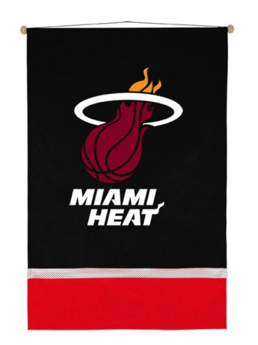 Miami Heat Sidelines Wall Hanging