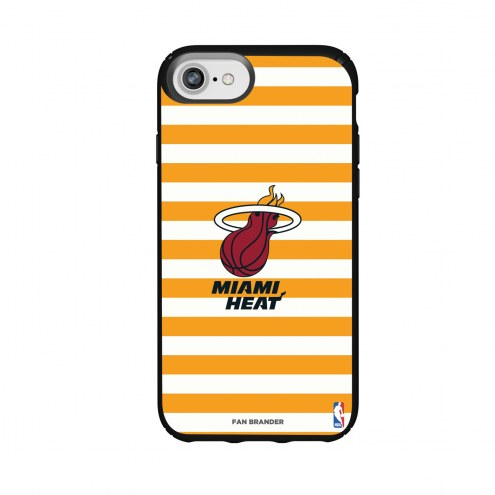 Miami Heat Speck iPhone 8/7/6s/6 Presidio Stripes Case