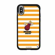 Miami Heat Speck iPhone XS Max Presidio Pro Stripes Case