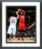 Miami Heat Udonis Haslem 2014-15 Action Framed Photo